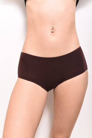 Eco-Modal Briefs Underwear: Chocolate - SHON SIMON