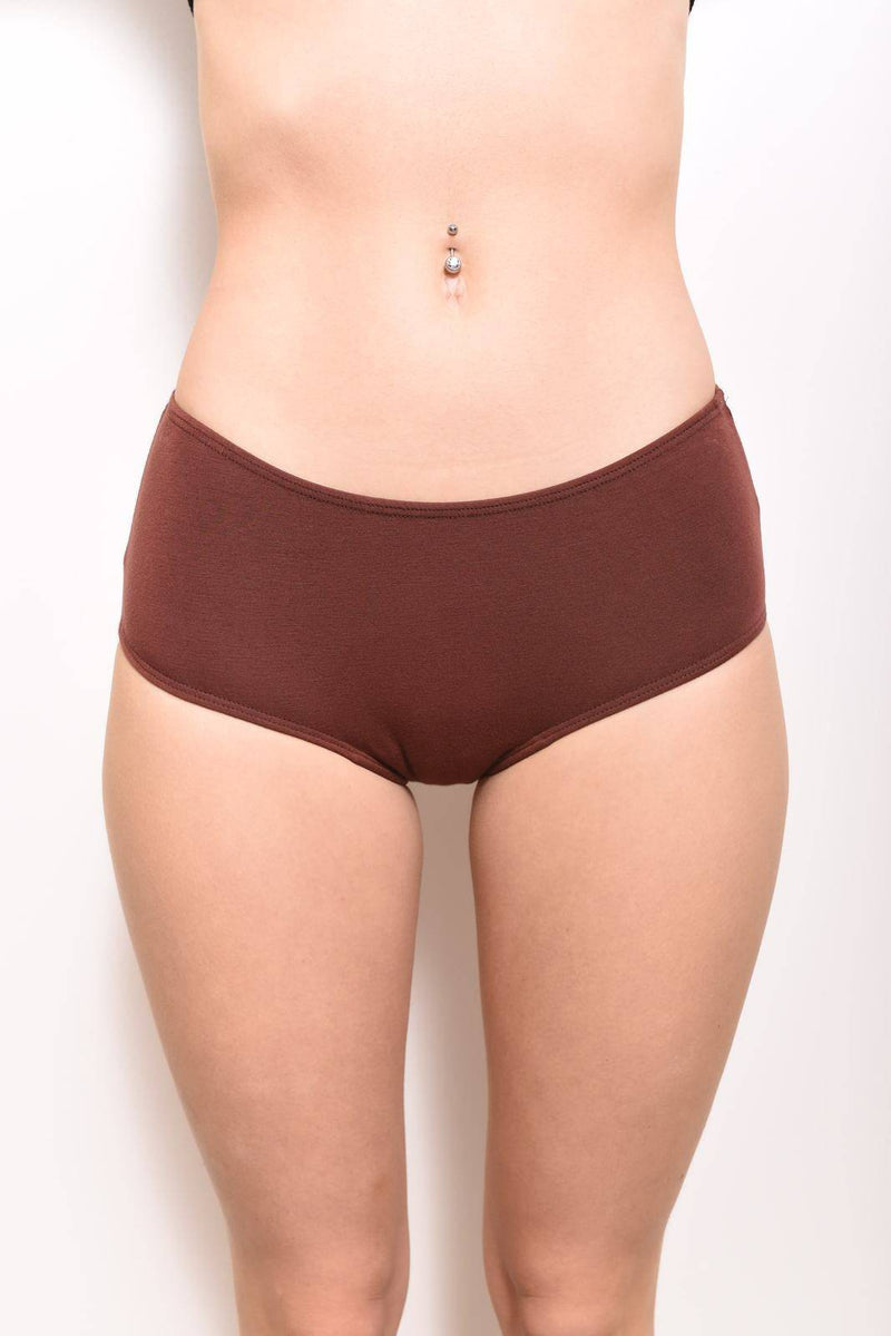 Eco-Modal Briefs Underwear: Cinnamon
