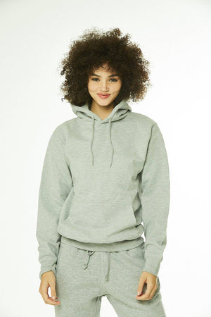 Core: Unisex Pullover Hoodie Heather Gray - SHON SIMON
