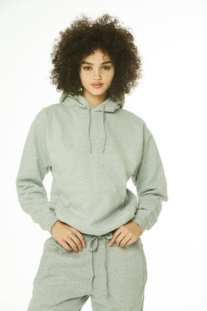 Core: Unisex Pullover Hoodie Heather Gray