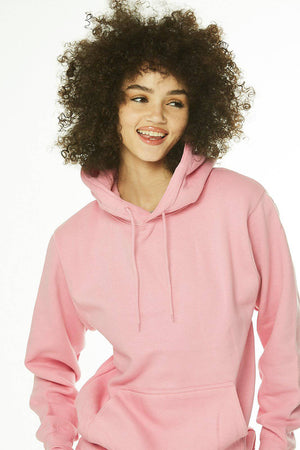 Core: Unisex Pullover Hoodie Soft Pink - SHON SIMON