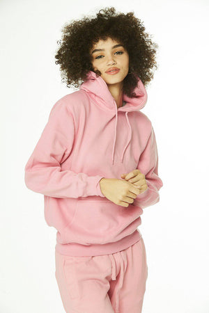 Core: Unisex Pullover Hoodie Soft Pink