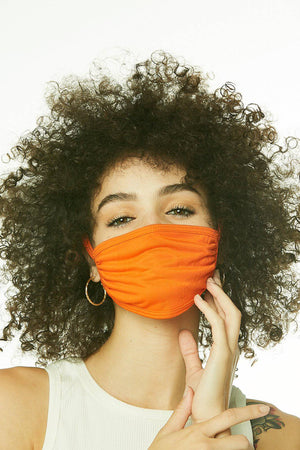 ORANGE FACE MASK