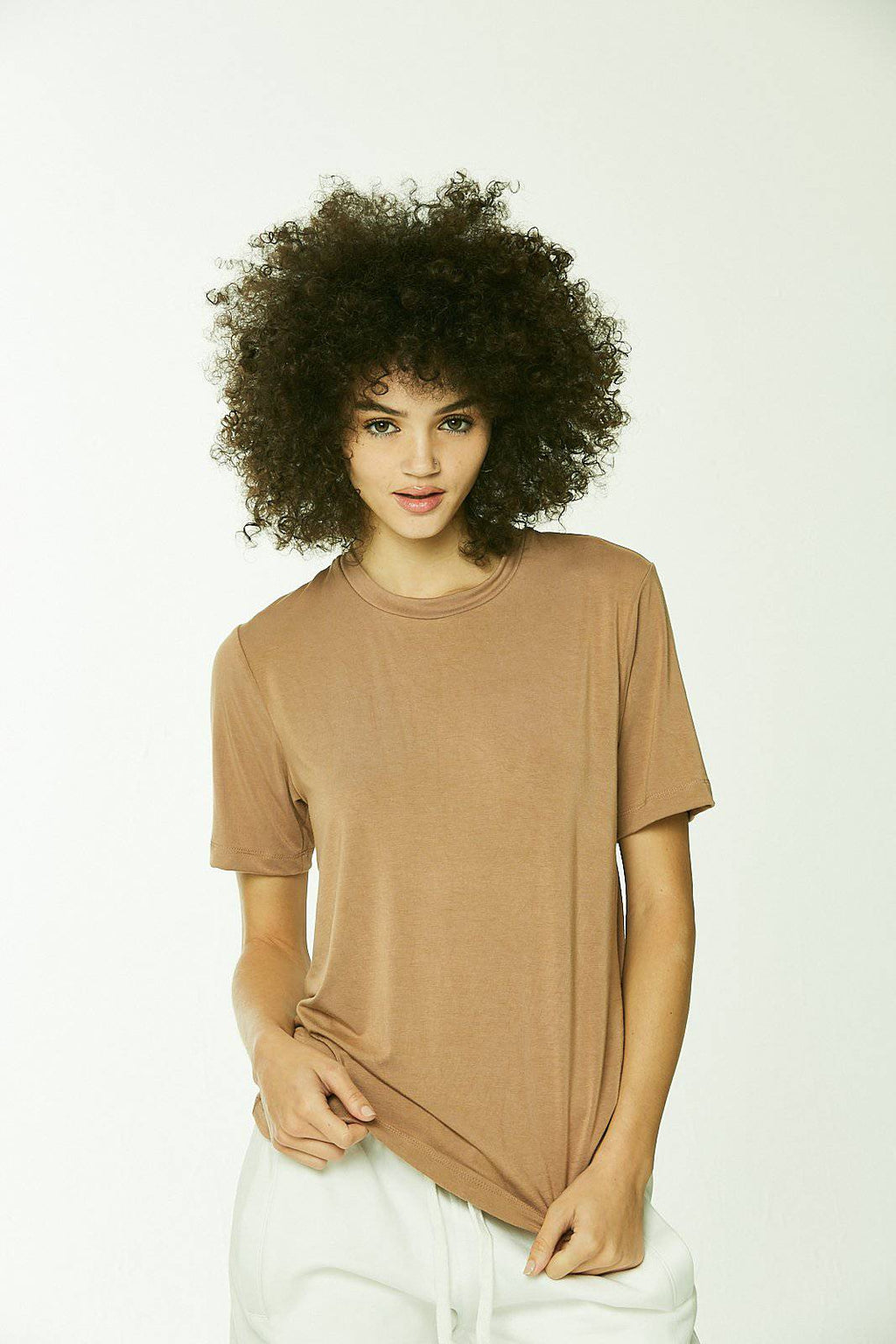Premiere Modal T-Shirt Honey