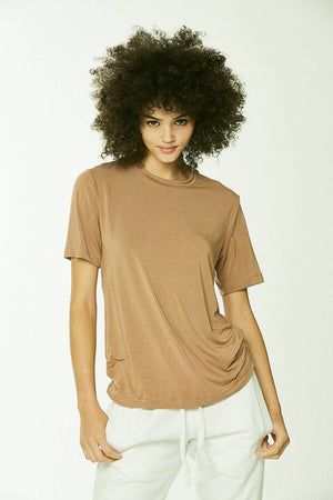 Premiere 100% Eco-Modal  T-Shirt Honey - SHON SIMON