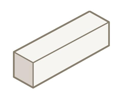 Sydney 10.83 90mm Half High Solid Block