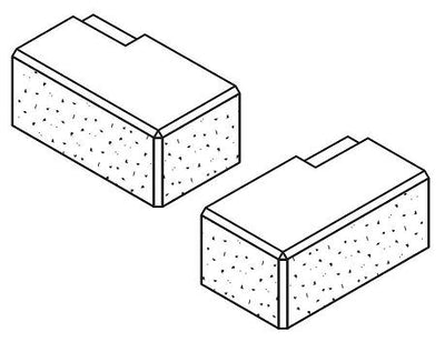 AUSTRAL MASONRY ARRINASTONE CORNER PAIR (LEFT & RIGHT)