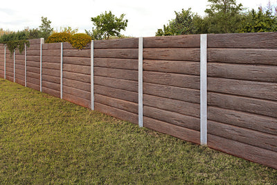 Austral Masonry Ironbark 1580x200x75mm Sleeper Retaining Wall