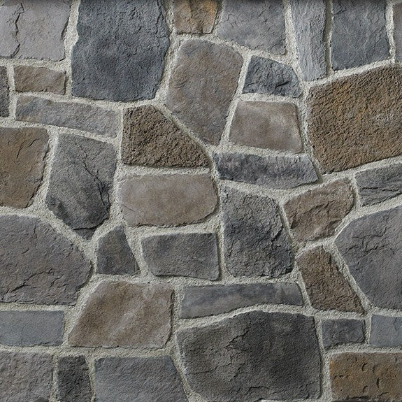 Cultured Stone Anicent Villa Ledgestone Random Feature Wall