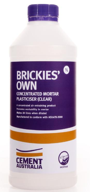 CEMENT AUSTRALIA BRICKIES OWN 1Ltr BOTTLE