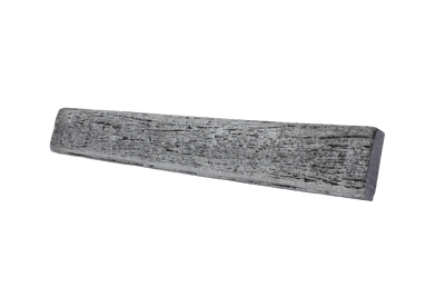 Austral Masonry TImber Look Charcoal 1580x200x75mm Sleeper Retaining Wall