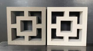 Cubic Breeze Blocks  - Double Square 290L x 90W x 290H