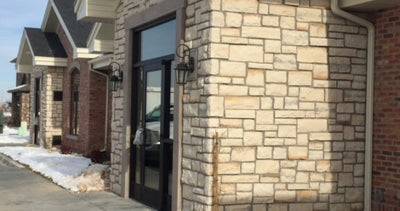Cultured Stone Cobblefield Random Feature Wall