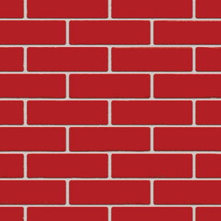 AUSTRAL BRICKS BURLESQUE LUSCIOUS RED (SOLD IN FULL PACKS OF 512 ONLY)