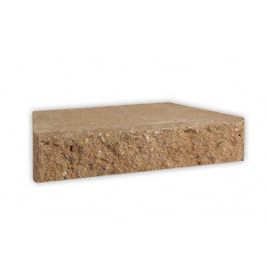 Adbri Masonry Meadow Stone  300/230x200x60mm Retaining Wall Cap
