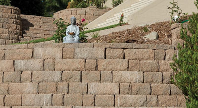 Adbri Masonry Sydney Meadow Stone  300/230x200x60mm Retaining Wall Cap