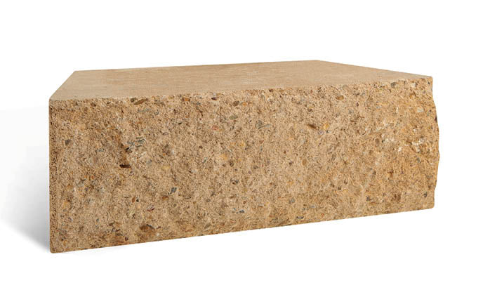 Adbri Masonry Meadow Stone 400x200x150mm Retaining Wall Block