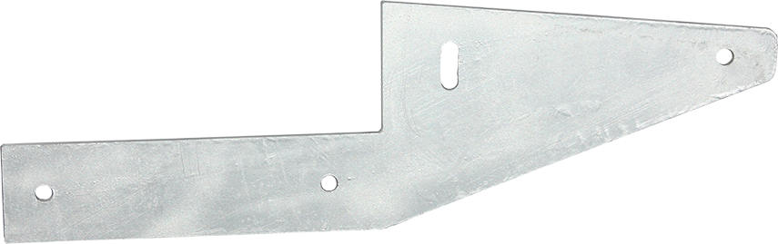 Aussie Concrete Galvanised Offset Fence Bracket 6mm