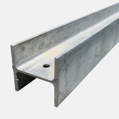 QPro Concrete Sleepers - Galvanised Steel H Posts 3200mm
