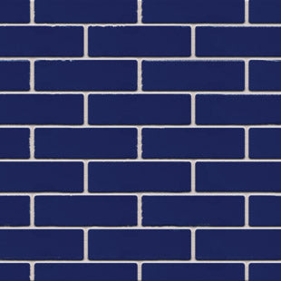 AUSTRAL BRICKS BURLESQUE SMASHING BLUE DOUBLE HEADER (SOLD IN FULL PACKS OF 512 ONLY)