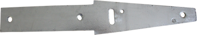 Aussie Concrete Galvanised Straight Fence Bracket 3mm