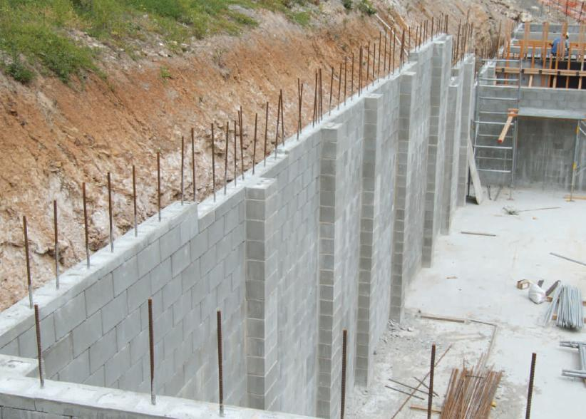 Adbri Masonry Versaloc Sydney Right Hand Corner Block 200mm Series