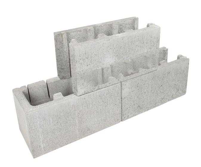 Adbri Masonry Versaloc Full Block End 200mm Series