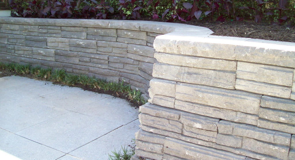 Adbri Masonry Natural Impressions 300x200x50mm Retaining Wall Cap
