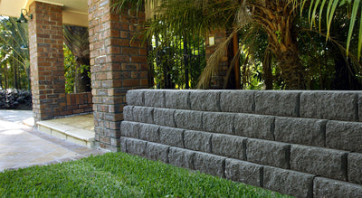 Adbri Masonry Sydney Windsor Stone 295x203x130mm Retaining Wall Block