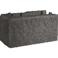 Adbri Masonry Versawall 390x215/190x200mm Right Hand Corner Retaining Wall Block