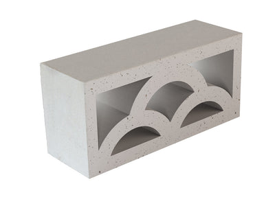 Breeze Blocks Austral Masonry - Cloud 390L x 90W x 190H