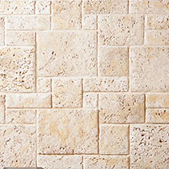 Cultured Stone Coral Stone Random Feature Wall Corners
