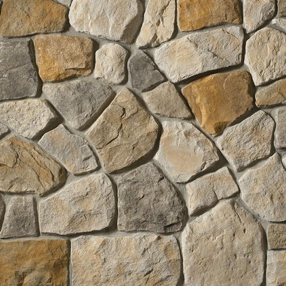 Cultured Stone Dressed Fieldstone Random Feature Wall Corners