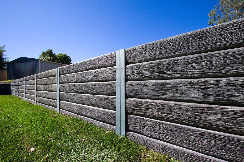 Aussie Concrete Gumtree 2000x200x75mm Sleeper Retaining Wall
