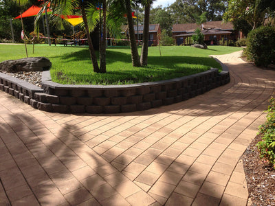 AUSTRAL MASONRY HARBOURPAVE 190x190x40mm PAVER