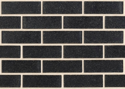 PGH BRICKS METALLIC - ONYX (SOLD IN FULL PACKS OF 460 ONLY)