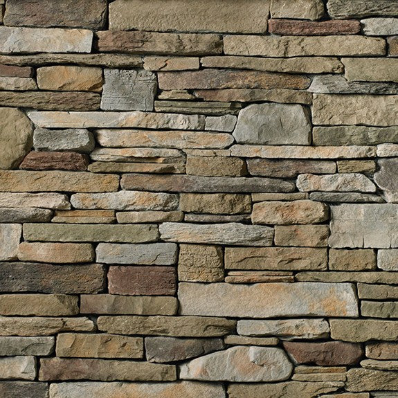 Cultured Stone Southern Ledgestone Random Feature Wall