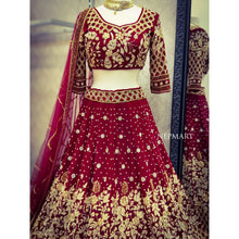 Load image into Gallery viewer, Bridal Lehenga Set
