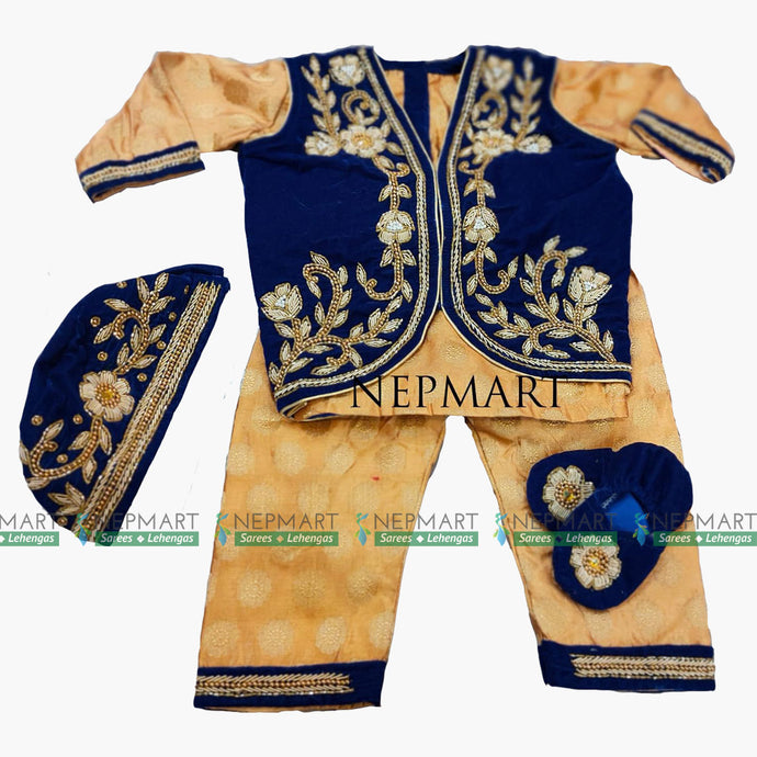 Royal Blue Pasni set