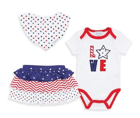 Baby 3-piece Americana outfit