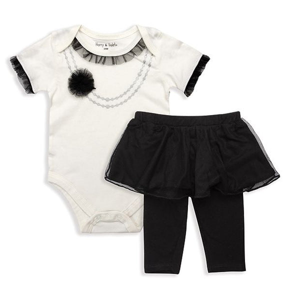 Baby Fashionista Body Suit and Tutu Leggings