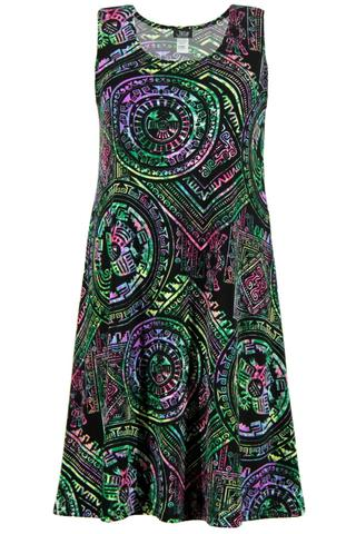 Women's Multi-Colored Dress