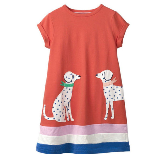 Girls dress - Dalmatian dogs