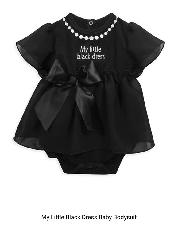 Baby Onesie - My little black dress