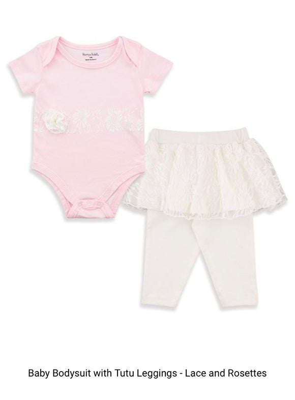 Baby Onesie with Tutu Leggings