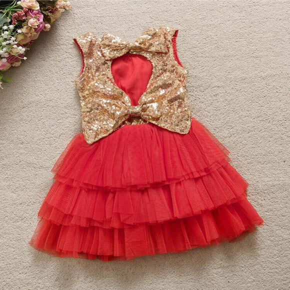 Girls sparkle dress in 3 colors