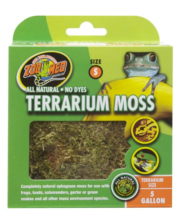 Zoo Med Terrarium Moss 1.31L - Northern Reptile Feeders