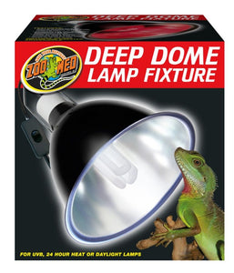 Zoo Med Deep Dome Lamp Fixture - Northern Reptile Feeders
