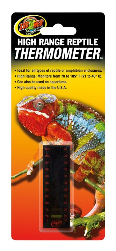 Zoo Med High Range Thermometer - Northern Reptile Feeders