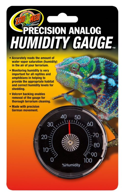 Zoo Med Precision Analog Humidity Guage - Northern Reptile Feeders